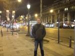 arnaud Magnin en visite à Paris