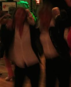 les inconnues de la dance party