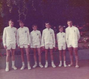 ligue de Paris champion de France minimes 1975